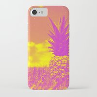pinapple iPhone & iPod Cases featuring Pinapple  by creativenomad