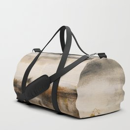 Steppe landscape Duffle Bag