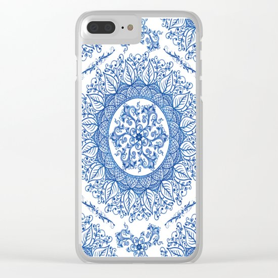 Mandaleaf - Portuguese Clear iPhone Case