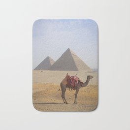 Great Pyramids of Giza Bath Mat