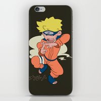 naruto iPhone & iPod Skins featuring Naruto by Jinny Hinkle
