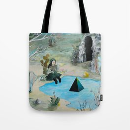 Cave Witch Tote Bag