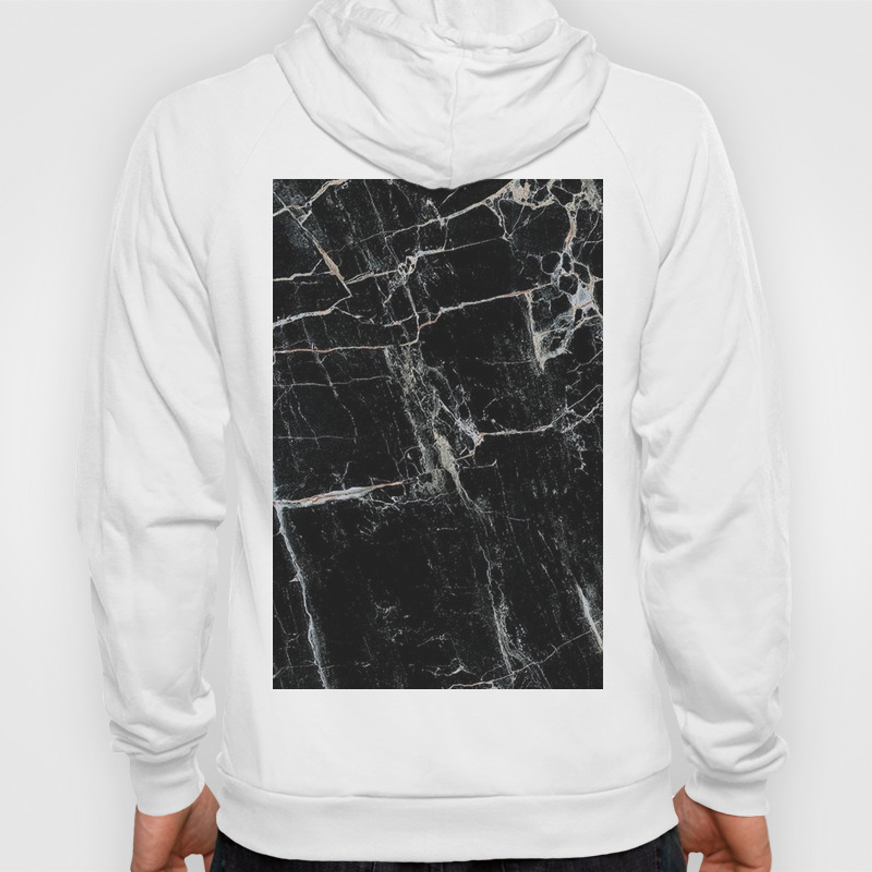 Black Marble Edition 1 Hoody By Kaeting Society6