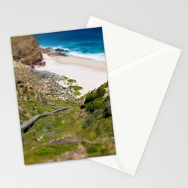 down the beach path Stationery Cards