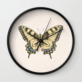 Butterfly II Wall Clock