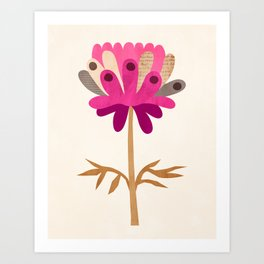 Spotted Bloom Art Print