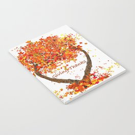 Giving Thanks Notebook
