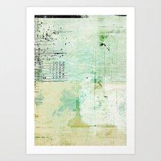 above sea level Art Print