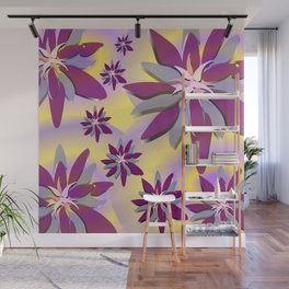 Spring Time Grooves Wall Mural