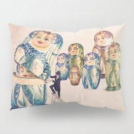 The Matryoshka opener Pillow Sham