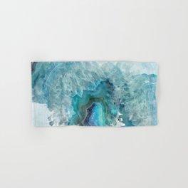Blue Aqua Agate Hand & Bath Towel