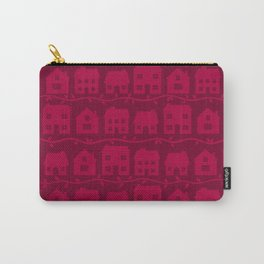 Cottage Charm in Raspberry Pink Carry-All Pouch