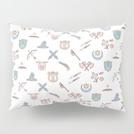 Cute Dungeons and Dragons classes Pillow Sham