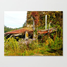 Abandoned.   Canvas Print