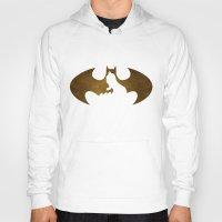bat man Hoodies featuring Bat Man by Sport_Designs
