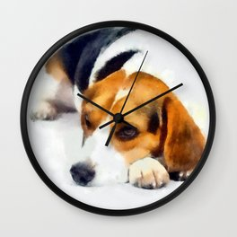 Beagle Bailey Wall Clock