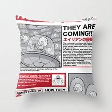 The News Throw Pillow