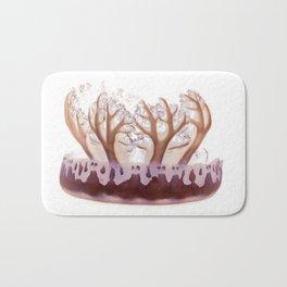upside down jelly fish Bath Mat