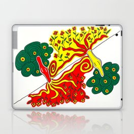 Rooted caress Laptop & iPad Skin