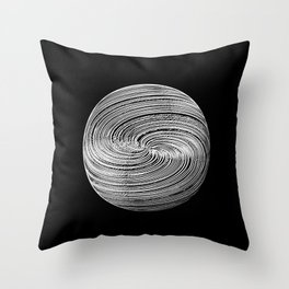 Twisted Twine Sphere Throw Pillow