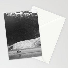 Mendenhall Glacier B&W Stationery Cards