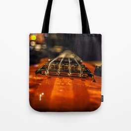 Bass Of Ace Tote Bag