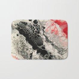 Black Cells Bath Mat