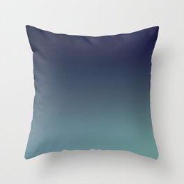 NIGHT SWIM - Minimal Plain Soft Mood Color Blend Prints Throw Pillow