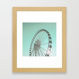 Spin Framed Art Print