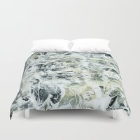 mineral Duvet Covers featuring mineral by clemm