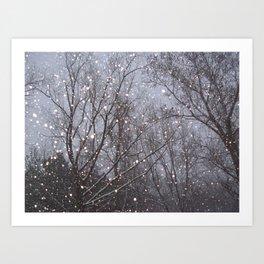 March Blizzard Art Print