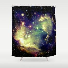 Nebula Galaxy (deep pastels) Shower Curtain