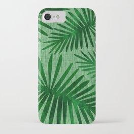 Emerald Retro Nature Print iPhone Case