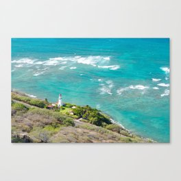 Diamond Head, Hawaii Canvas Print