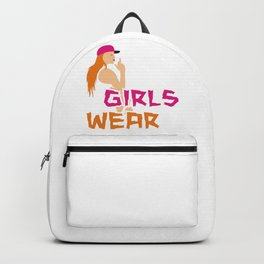 Bad Girls wear black 2 Backpack