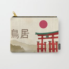 Torii Gate - Painting Carry-All Pouch