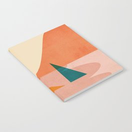 Abstraction_Lake_Sunset Notebook