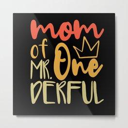 Mama Saying Nice Metal Print