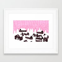 finland Framed Art Prints featuring Finland  by or livneh