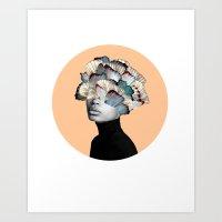 Mind Wandering  Art Print