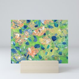 Just Because - Abstract floral Mini Art Print