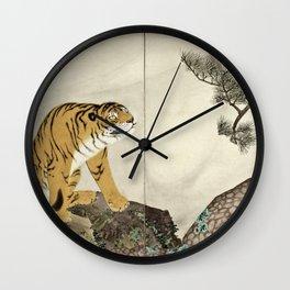 Maruyama Okyo - Tiger Wall Clock