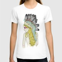 hunting T-shirts featuring Hunting // by Lukka