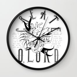 Pure Heart Wall Clock