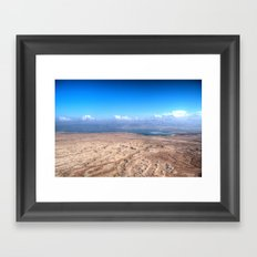 The Dead Sea Series #1 Framed Art Print