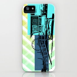 Lifeguard stand iPhone Case