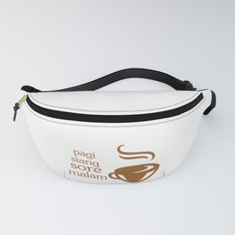 coffee mix Fanny Pack