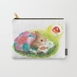 stay up rabbit Carry-All Pouch