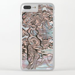 SLIPPERY ISM (B) Clear iPhone Case