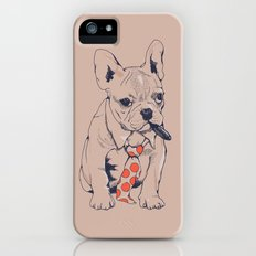 FRENCH BULLDOG BOSS iPhone (5, 5s) Slim Case